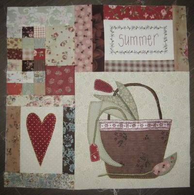 Leanne's House Block of the Month Quilt 11