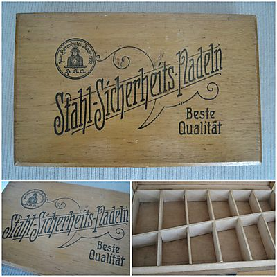 Kistje veiligheidsspelden H.A.G.