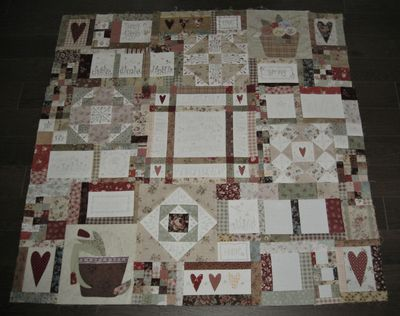 Leanne's House Block of the Month Quilt 8