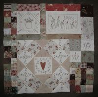 Leanne's House Block of the Month Quilt 10