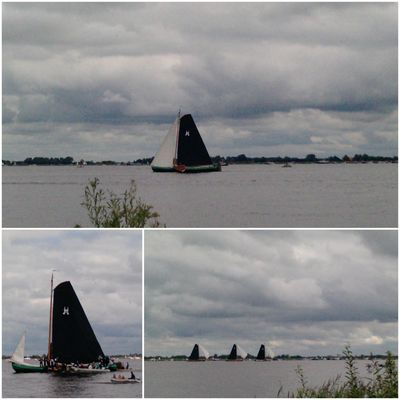 Skutsjesilen Sneekermeer 2011
