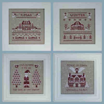 NenneDesign Kerstpatroontjes 2011