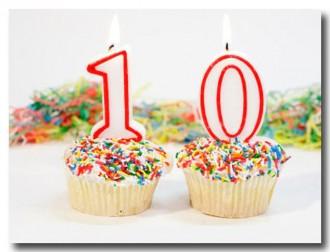 10 jaar