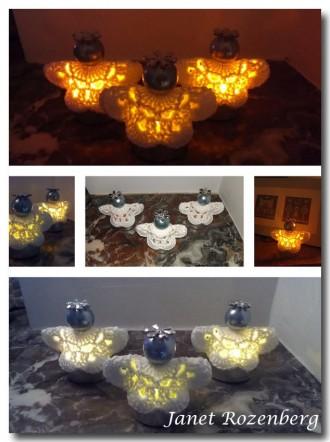 Kerst 2013 Engelen lichtjes (maybelle Flowers)