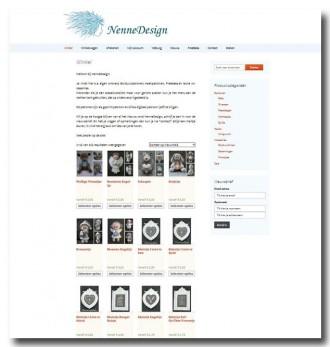 Schermafdruk nieuwe NenneDesign site 1