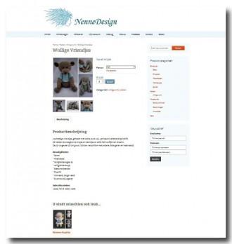 Schermafdruk nieuwe NenneDesign site 2