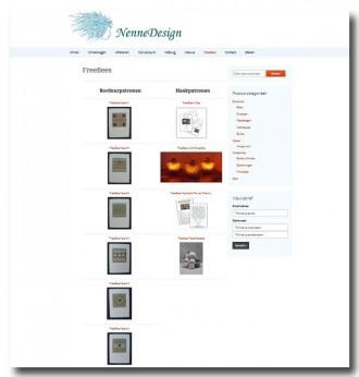 Schermafdruk nieuwe NenneDesign site 3