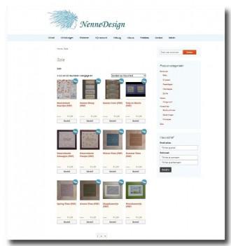 Schermafdruk nieuwe NenneDesign site 4