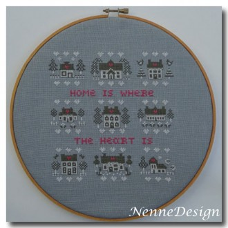 NenneDesign Home is where the Heart is