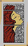 Freebee Art Deco vrouw 3 geb